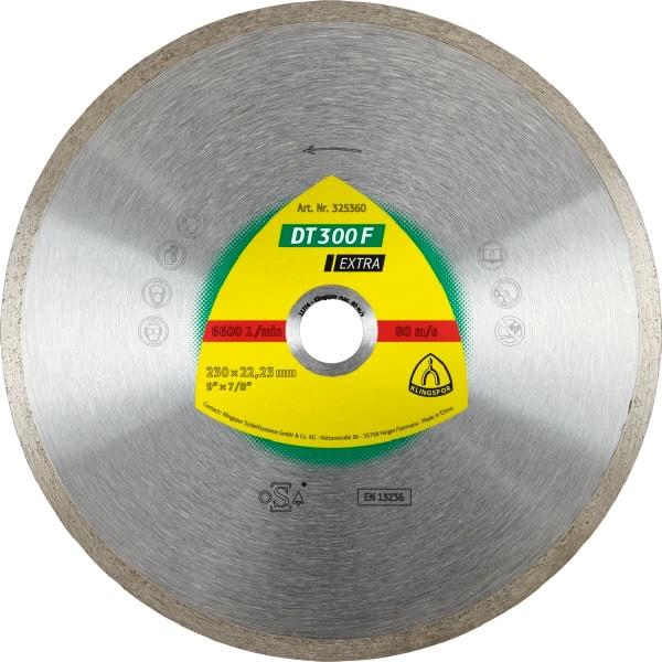 Диамантен диск за керамика DT 300 F Extra