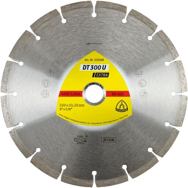 Диамантен диск за бетон DT 300 U Extra