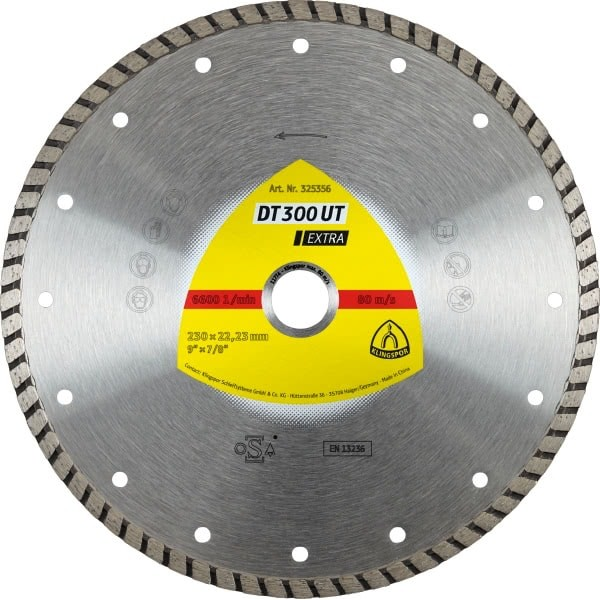 Диамантен диск за бетон DT 300 UT Extra