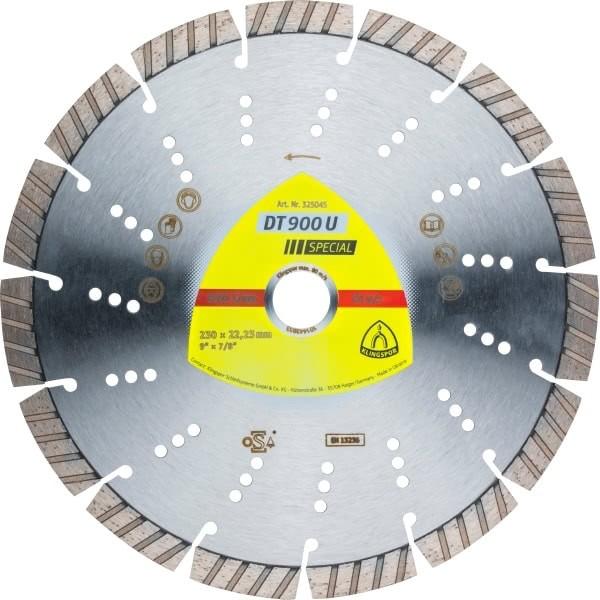 Диамантен диск за армиран бетон DT 900 U Special