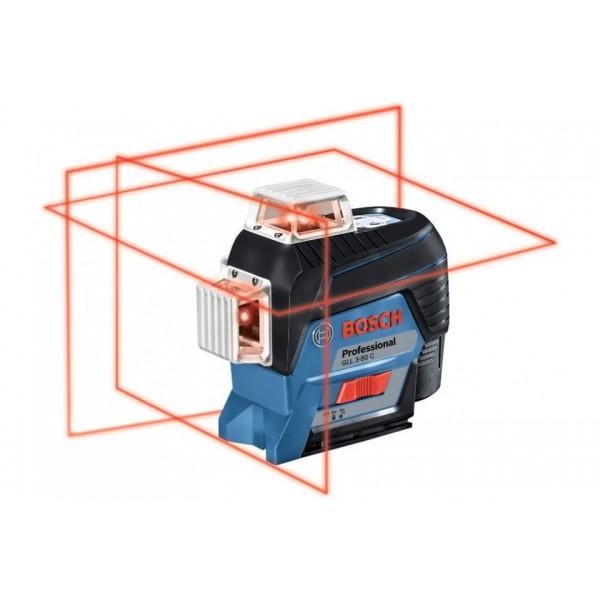 Bosch Линеен лазерен нивелир GLL 3-80