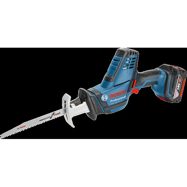 Bosch Акумулаторен саблен трион GSA 18 V-LI C