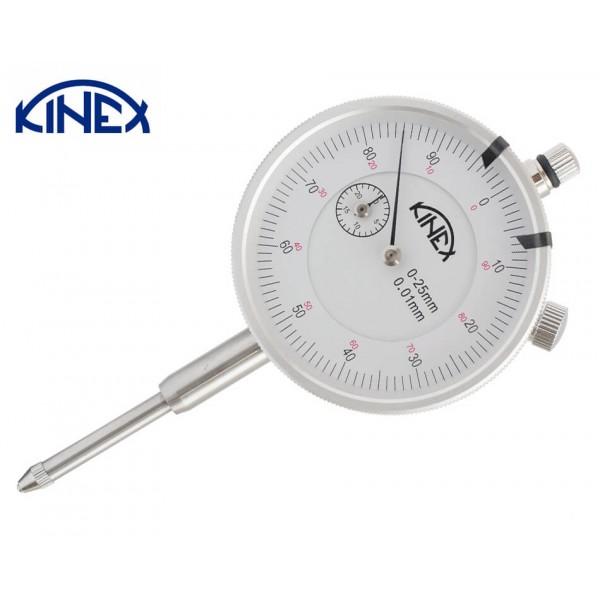 Индикаторен часовник KINEX 0-10 mm, 0.01 mm