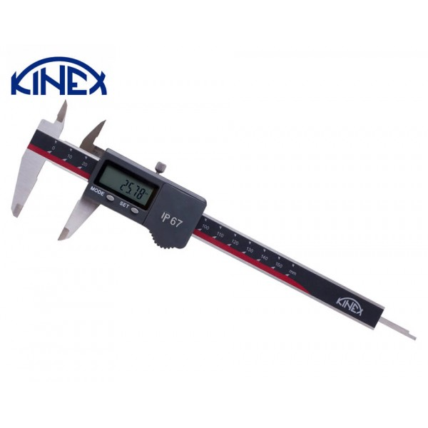 Шублер дигитален Kinex 0-150 mm, 0,01 mm, IP67